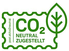CO2 neutrale Zustellung mit der Östereichischen Post!